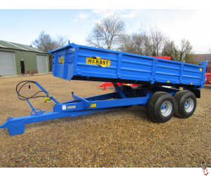 HERBST Dropside 08 tonne Tipper 13ft x 7ft - New