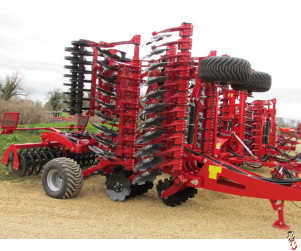 PROFORGE INVERTAMAX PRO 6 metre Heavy Short-Disc, Speed-Disc Harrow Cultivator, New,