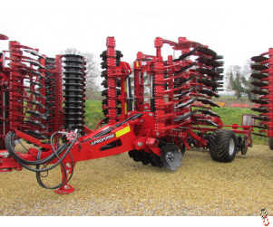 PROFORGE INVERTAMAX PRO 5 metre Heavy Short-Disc, Speed-Disc Harrow Cultivator, New,