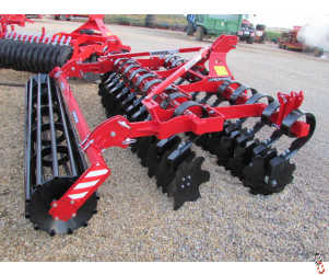 PROFORGE INVERTAMIN 3.0 metre Short-Disc Speed-Disc Harrow Cultivator, NEW,