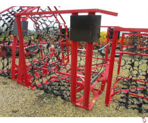 PROFORGE 6 metre Mounted Hyd. Folding Chain Harrow