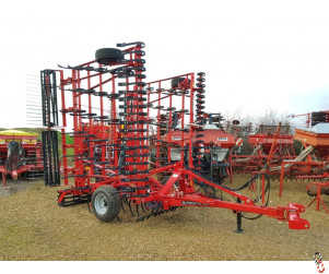 PROFORGE CULTIMAX 8 metre Trailed Springtine Cultivator, New - 2018 Shopsoiled,