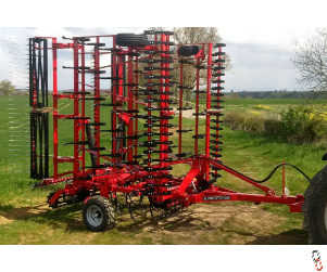 PROFORGE CULTIMAX 8 metre Trailed Springtine Cultivator, New - Shopsoiled,