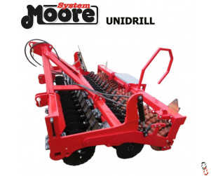 MOORE UNIDRILL 3 metre Direct Drill, New, 24 row Base Unit Only, The Original and still the Best