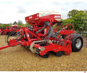 MOORE UNIDRILL 3 metre Direct Drill, New, 32 row, Trailed - UK Built!