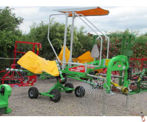 NEW TALEX 420 Single Rotor Rake, 4.2 metre,