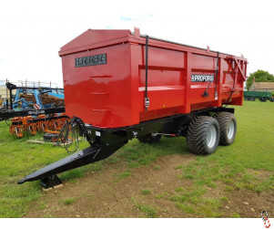 PROFORGE ACE 12 Tonne Grain Trailer, NEW, Hyd Door, Sprung Drawbar