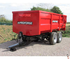 PROFORGE ACE 12 Tonne Grain Trailer, NEW, Hyd Door, Sprung Drawbar