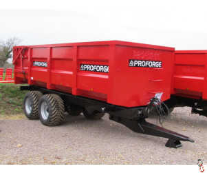 PROFORGE ACE 14 Tonne Trailer, NEW, Hyd Door, Sprung Drawbar - In Stock