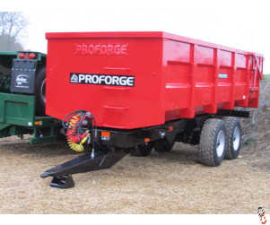 PROFORGE ACE 16 Tonne Grain Trailer, NEW, Hyd Door, Sprung Drawbar
