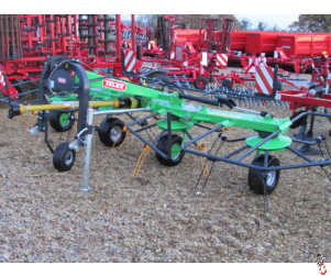 NEW TALEX TORNADO 5.5 metre 4 Rotor Tedder - In Stock