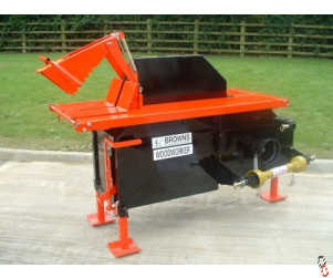 BROWNS WOODWORKER LOGGING SAWBENCH - PTO - Sliding Table - NEW