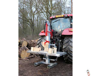 Tractor Log Splitter Hydraulic Tractor Mounted - 20 Tonne (with Table)