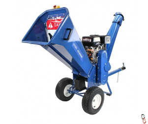 Hyundai 420cc Petrol 4-Stroke Wood Chipper/Shredder/Mulcher - Electric Start - HYCH1500E-2, New