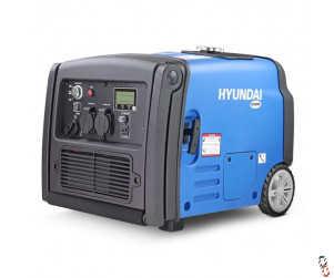 Hyundai 3200W Portable Inverter Generator | HY3200SEi, New
