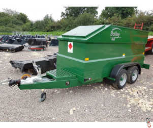 BAILEY Fast Tow Diesel Bowser, New, 2000 litre with 220 litre Ad-Blu Tank, Electric Pump - 1 In Stock !