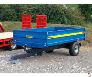 FLEMING TR6 Tipping 6 Tonne Dropside Trailer, New, 2021, In Stock