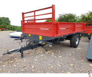 HERCULANO 5 tonne 3-Way-Tip Dropside Trailer, NEW - In Stock Now!