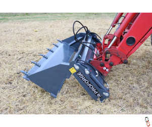 PROFORGE 4 in 1 Bucket with Euro Loader Brackets