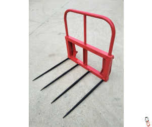 Bale Spike - High Back, with Euro Brackets, New