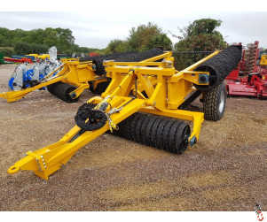 """NEW TWOSE McCONNEL 12.4 Metre Rolls, 2021, 7520kg, 55cm (22"""")/Breakers Rings, 1 set available from stock"""