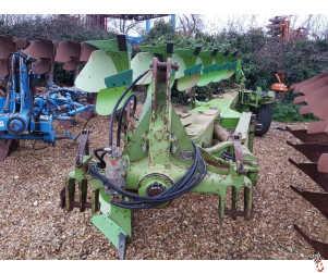 DOWDESWELL MA145 Plough, 6 furrow, On Land-In Furrow, 2005