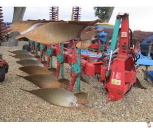 KVERNELAND LD85/240 Plough, 6 furrow, high clear, No.8 bodies