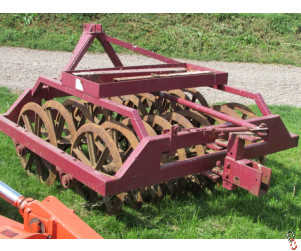 FARMFORCE 1.6 metre Double Press, 45 degree rings,