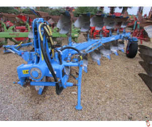 LEMKEN EUROPAL 8 Plough, 7 furrow (6+1) manual Vari, 2011