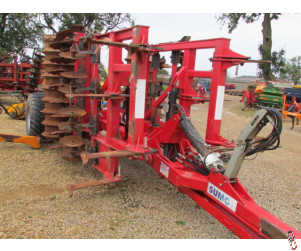 SUMO TRIO 4 metre Tine Disc Press Cultivator