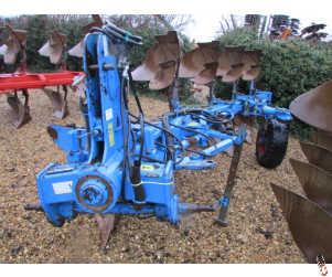 LEMKEN EURO VARIOPAL 8 Plough, 5 furrow, Hyd vari, W52 bodies
