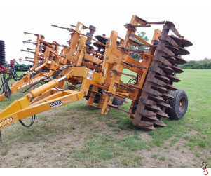 SIMBA CULTIPRESS 4.6 metre DD rings, leading tines, hyd levelling boards