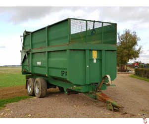 RICHARD WESTERN SF14 Grain Trailer 14 tonne with Silage Sides