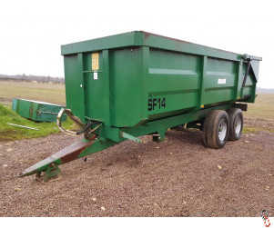 RICHARD WESTERN SF14 Grain Trailer 14 tonne