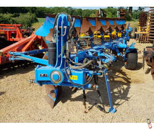LEMKEN JUWEL 8 Plough, 7 furrow, 6+1, Hyd variwidth, 2016 V good metal