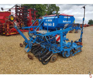 LEMKEN 3 metre Zirkon/Solitaire Disc Coulter, Combination Seed Drill