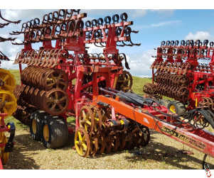 VADERSTAD REXIUS TWIN 1030 Heavy Press with Raptor Tines, 90% Rings