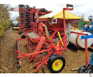 LELY 3 metre Polymat Airseeder, Drill only - To fit Power Harrow, 3 row stagger