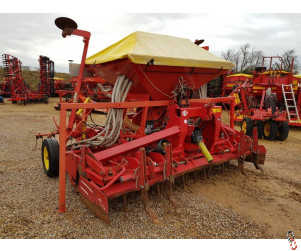 LELY 3 metre Combination 2012 Power Harrow 300-55 with Polymat Airseeder
