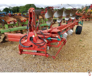 KVERNELAND LD85/300 Plough 5 furrow, (4 + 1) Press Arm, Maize Skims, High Clear