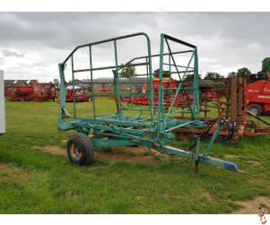 BROWNS 56 Bale Carrier, Trailed
