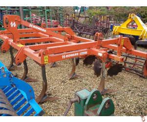 HOWARD DELTA 3 metre Stubble Cultivator, 7 tine