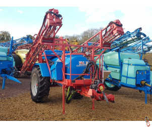 GEM SELF-TRAK 20, 21 or 24 metre Trailed Sprayer, 2000 litre