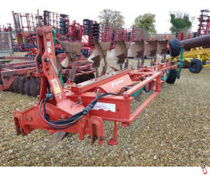 KVERNELAND LO85/300 On land-In Furrow 6 furrow Plough, Hyd Vari, No.28