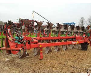 KVERNELAND RG100 Plough 8 Furrow, 2015, hyd variwidth, No. 28 bodies