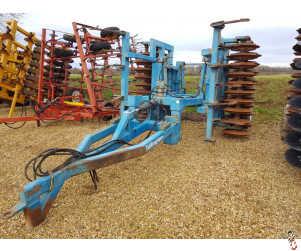 EDLINGTON 4 metre Trailed Heavy Press