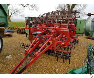KONGSKILDE GERMINATOR 4 metre Trailed Intensive Seedbed cultivator