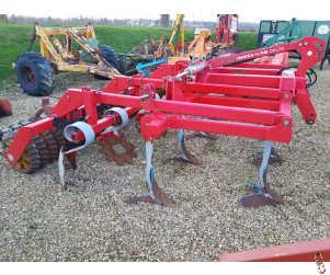 KONGSKILDE DELTA 4 metre Hyd-Fold Stubble Cultivator