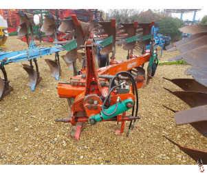 KVERNELAND LD85/160 Plough, 3 + 1, Slatted bodies