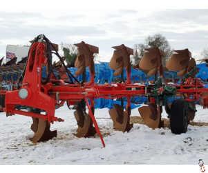 VOGEL & NOOT XS950 Plough, 2013, 5 furrow, Hyd Variwidth, High Clear